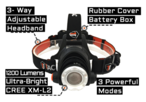 HL 1200 TACTICAL HEADLAMP