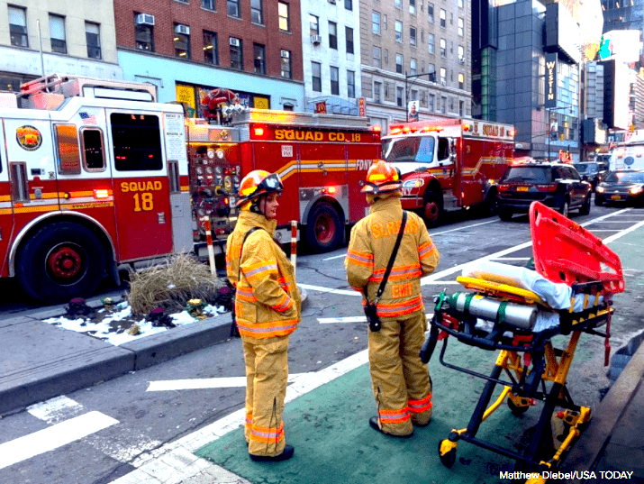 First Responders in NYC