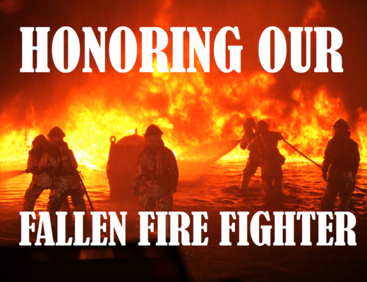 honoring the fallen firefighter True hero