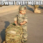 Miliary Moms see their little boys going to war