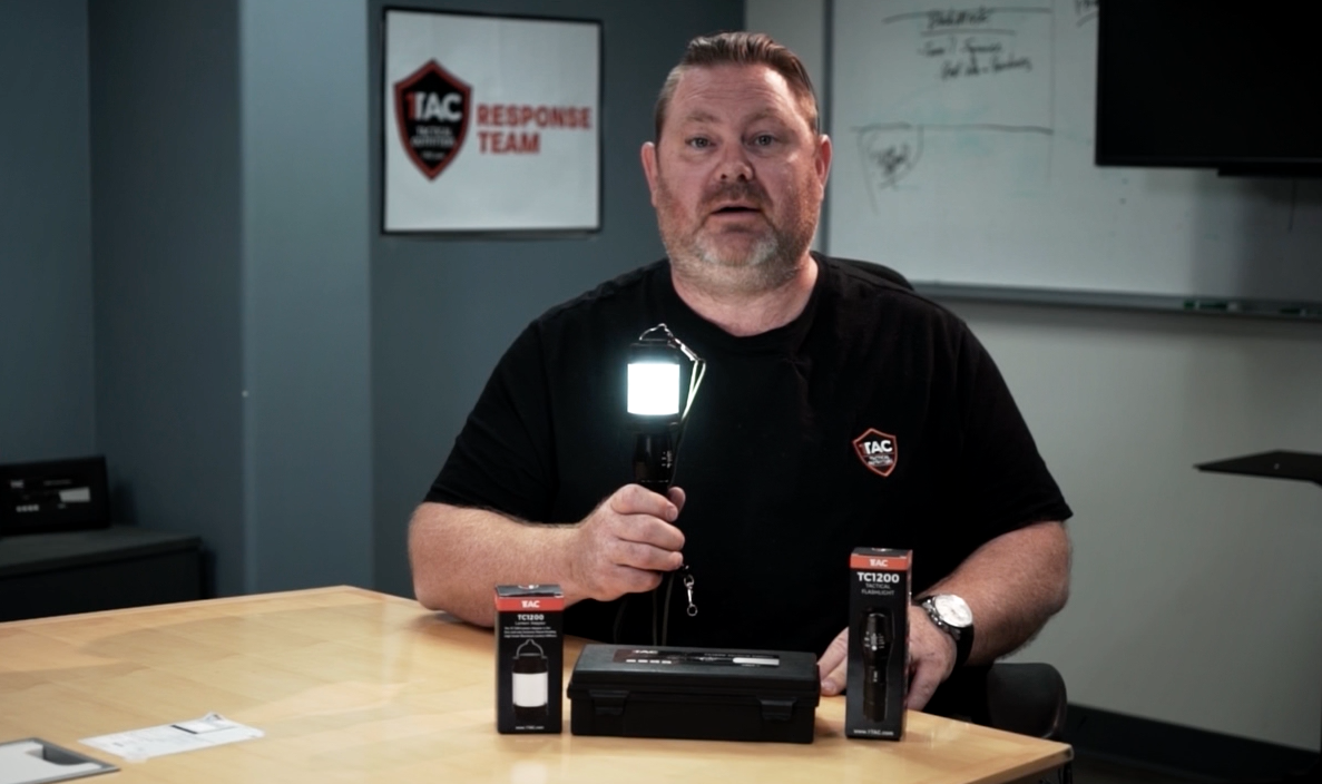 1TAC PowerLantern Flashlight Combo