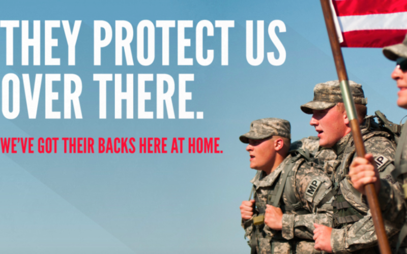 We need to support our Military. Even during shutdown.