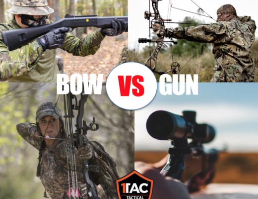 BOW VS GUN 1TAC SURVIVAL - the big question. Which is better