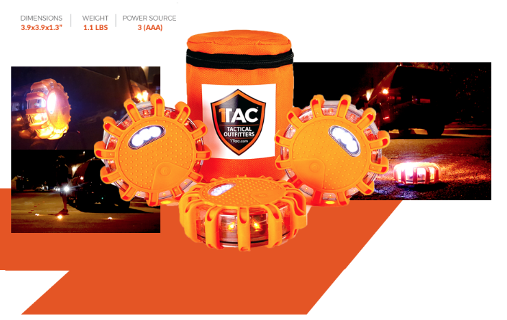 1TAC Roadside Safety Discs Roadside Safety Discs