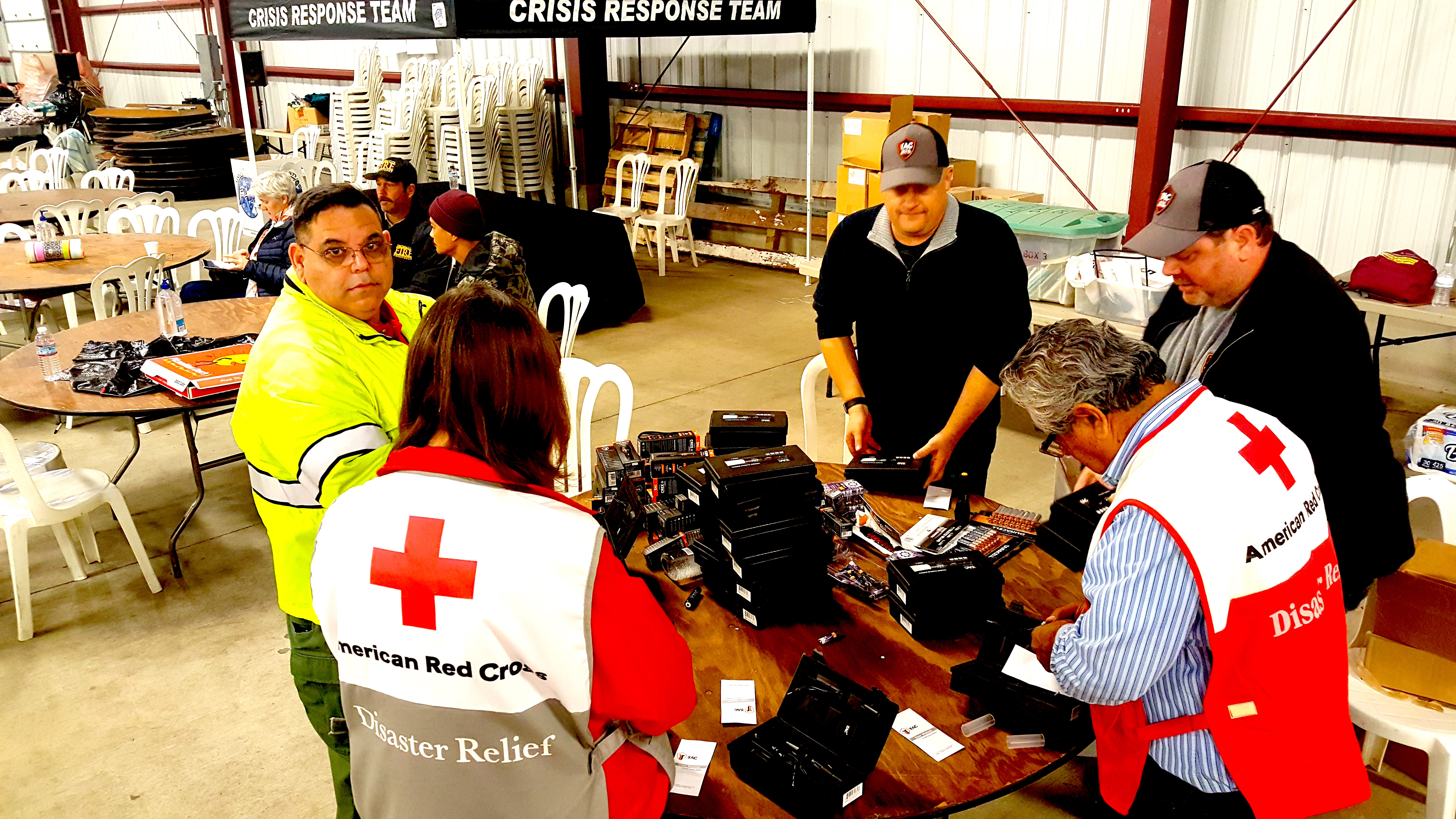 RED CROSS and 1TAC RESPONSE TEAM