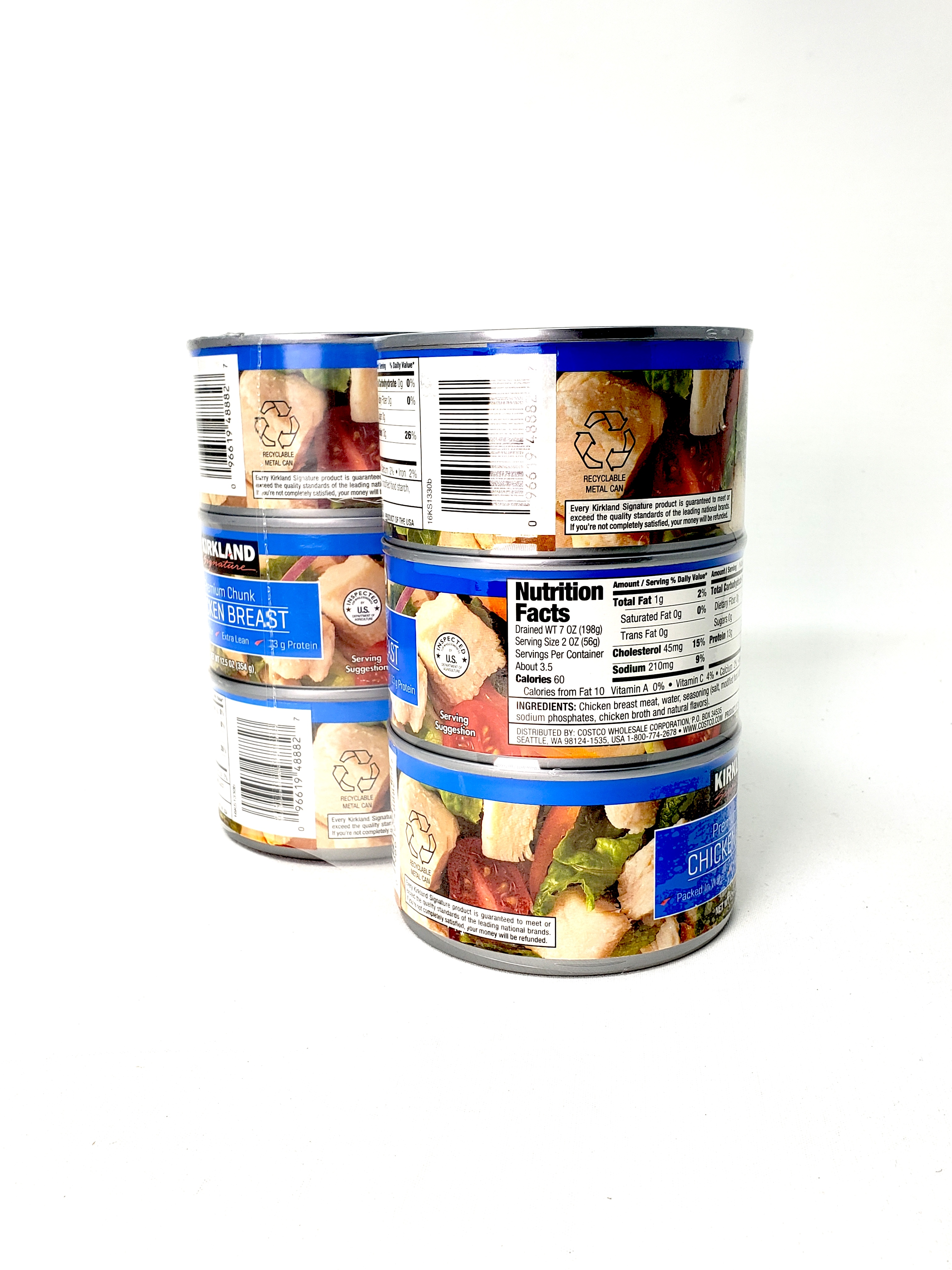 Canned food supplies prepare for emergencies
