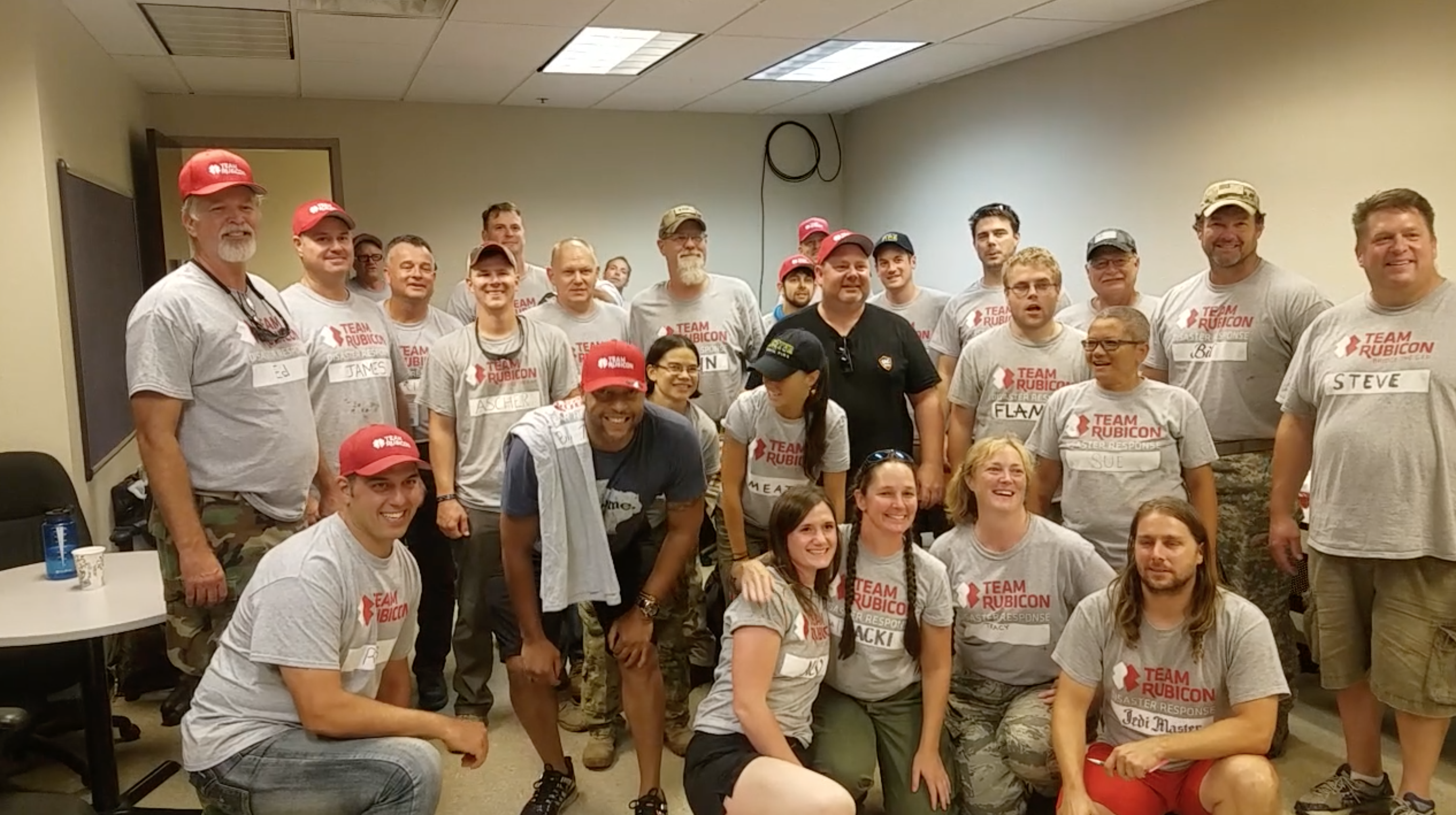 Team Rubicon Treated us like family