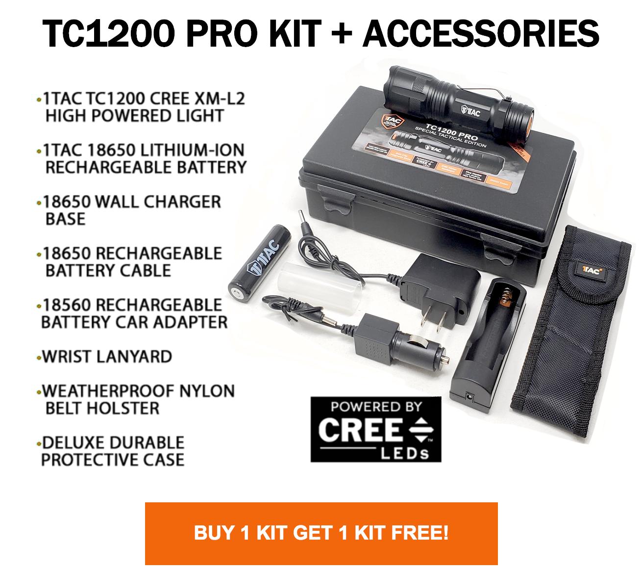 TC1200 PRO KIT