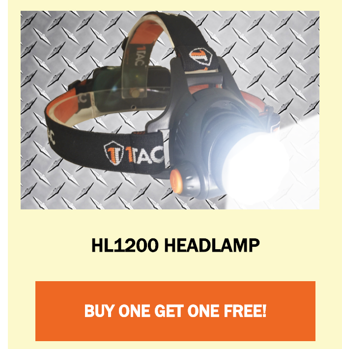 HL 1200 HEADLAMP BY 1TAC