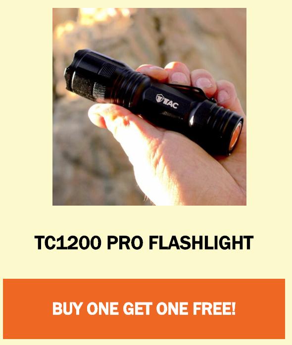 TC1200 PRO Flashlight
