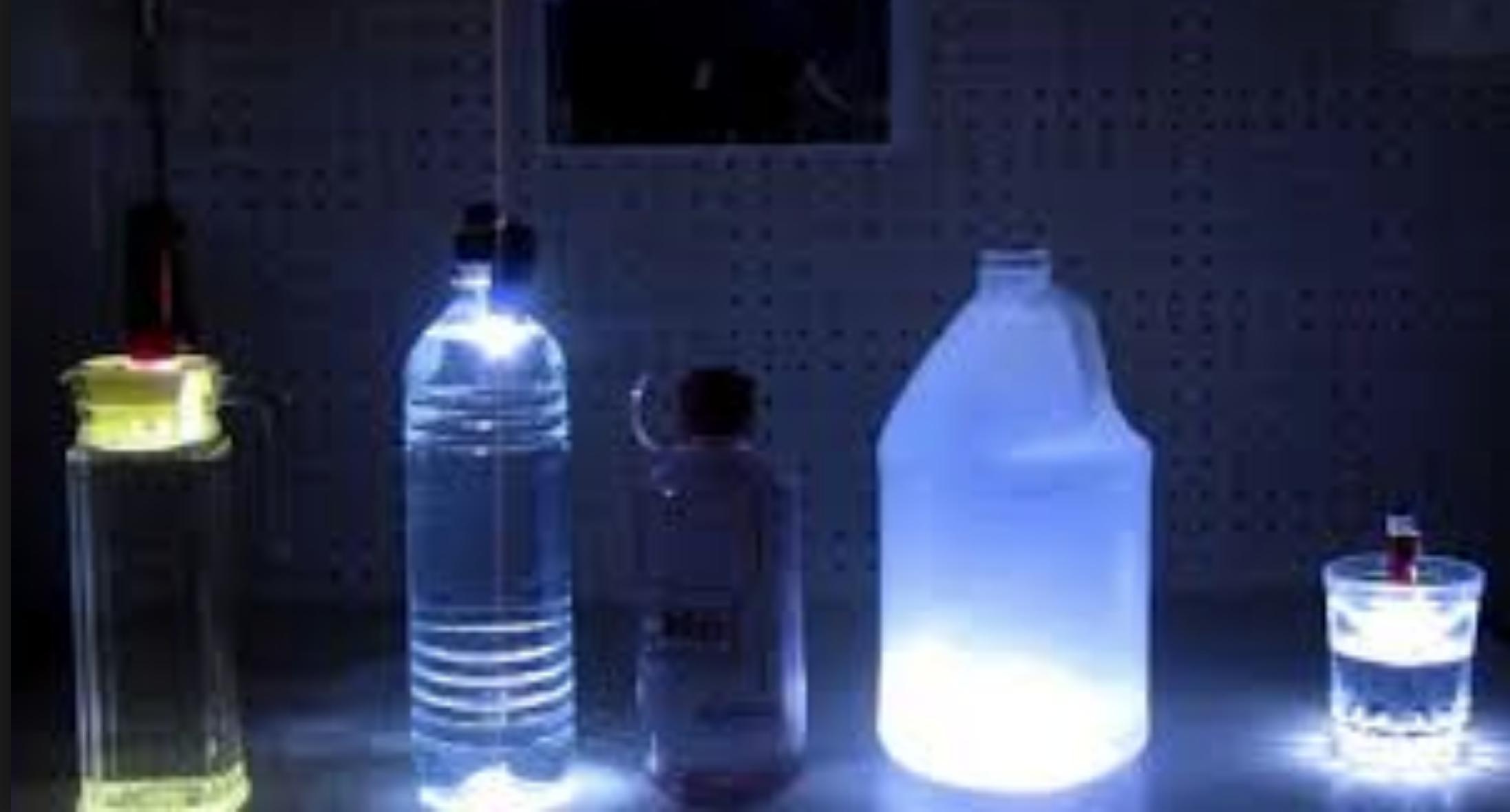 Water bottle Headlamp Lantern